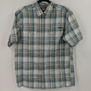 Men's EDDIE BAUER Plaid Button Down Shirt